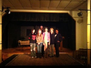 The cast of Final Tally, the last show I did.
