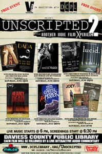 Interview with PJ Starks, founder of Unscripted, a really wicked awesome film series in Kentucky